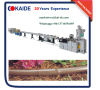 2 Layers Drip Irrigation Pipe Machine to produce brown color irrigation pipe for garden