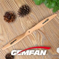 1270 2 messen elektrisch houten vliegtuig CCW prop naar goedkope speelgoed