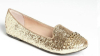 Shiney glittering studded flat ladies shoes