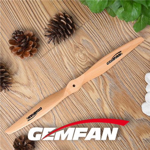 15x7 inch Electric Wooden Propellers with ccw for model airplane with 2 blades