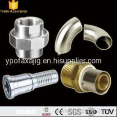 Brass Steel Compression Tube Pipe Thread Fittings Staight Elbow Petroleum Fittings