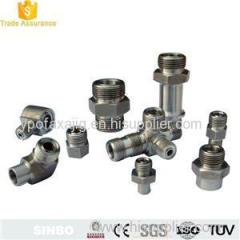 High Pressure Hydraulic Hose connectors Hydaulic Couplers Tube Fittings