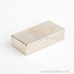 Permanent Sintered Neodymium Magnets Block Strong Performance
