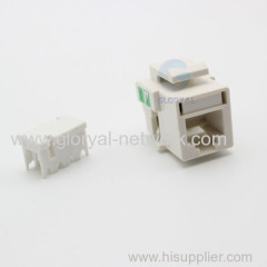 Fully stocked Cat 3 RJ11 keystond jack exclusively for telephone