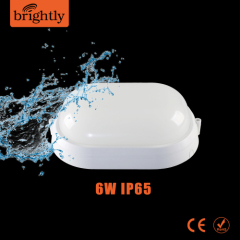 6W IP65 Surface Mounts Plastic LED Wall Light