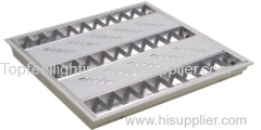 T5 Fluorescent Grille Lamp with Decorative Panel