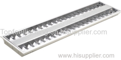 T5 Fluorescent Tube Grille Light with Decorative Panel Grid Lamp