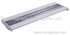 T5 fluorescent tube grid lamp with wide frame