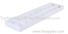 whole spray grille light grid fixture