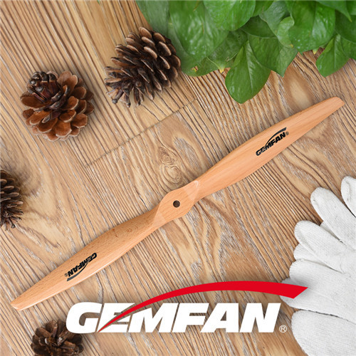 1780 2 Blades Electric Wooden Propellers for fixed wings ccw cw