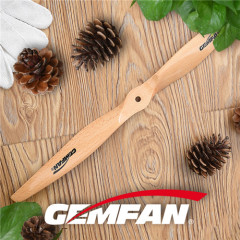 2 blades 1860 electric wooden propellers for CCW wooden airplane