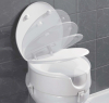 Raised Toilet Seat with TUV Approval for disabled people