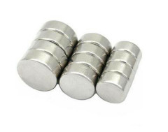 Axial Nickel Neodymium Disc Magnets High Performance Strong Holding