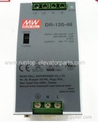 OTIS elevator parts power supply DR-120-48