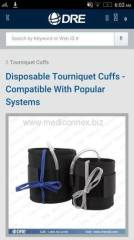 disposable tourniquet used with machine