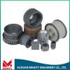 aluminium flat belt pulley flat belt drive pulley plastic belt wheel pulley