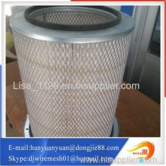 Applied for industrial air purifier hepa filter stainless steel filter element
