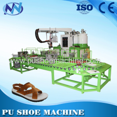 Two color pu shoes machine