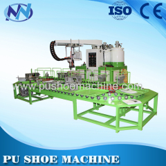 Manufacturing PU shoe making machine