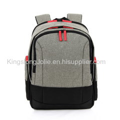 Linen Material Italy Style Leisure Fancy Laptop Backpack