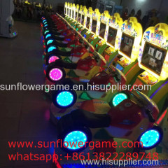 Super motor kiddy rides coin operated kiddy rides electric video super motor sport game kiddie rides