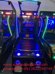 Luxuries arcade basketball shooting game machine tickets out basketball game Luxury basketball arcade game machine Indo