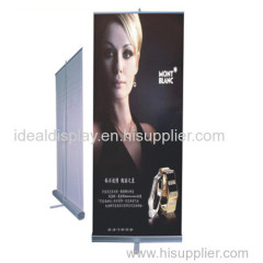 roller up banner stand