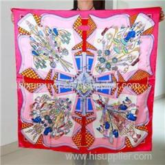 Factory Direct Cheaper Price Custom Digital Print Silk Square Scarf with Best Quality