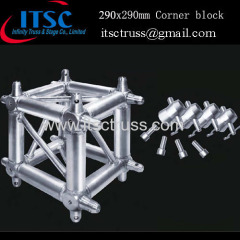 290x290mm Corner block / 6-way corner