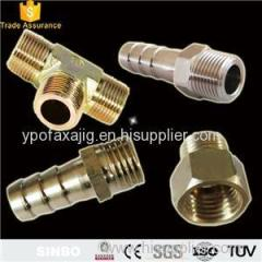 Stainless Steel Hose /Tube Connectors Elbow Straight Pneumatic Hose Fittings