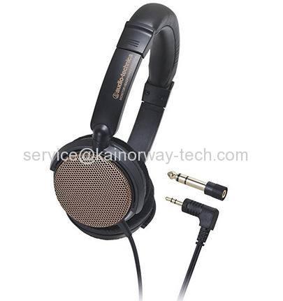 Audio-Technica ATH-EP700 Open Type Studio Monitor Headphones Orange
