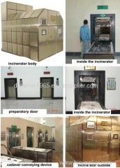crematory incinerator furnace equipment