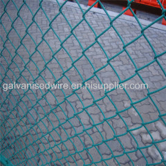 Plastic Coated Chain Link Mesh/Chain Wire Mesh(Factory)