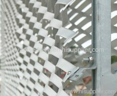 pvc coated expand wire mesh