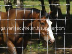 Factory direct sale galvanized farm guard field fence/cheap field fence
