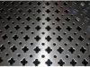 Round hole sheet metal perforated wire mesh with various shape