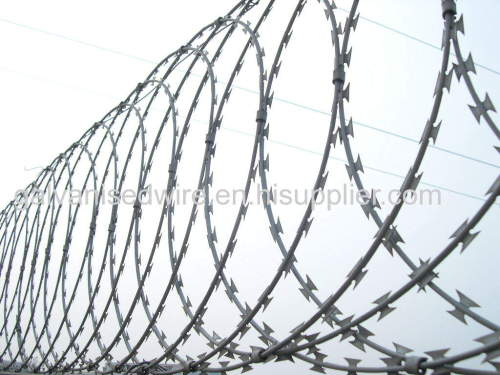 concertina wire usd in military
