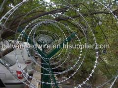 Concertina razor barbed wire netting