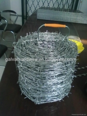 2014Hot-Salel! Low Price Galvanized/PVC Coated Barbed Wire