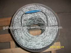 hot-dipped galvanized barbed wire/barbed wire factory
