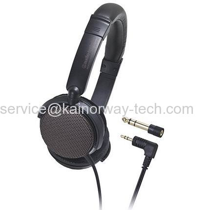 Audio Technica Open-Back Studio Headphones Audio-Technica ATH-EP700 Brown