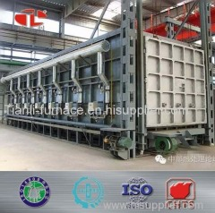 Natural gas heat treatment industiral furnace