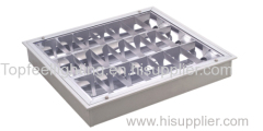 Mat Reflector Grille Light Luminaire cleanroom light fixture with Grid