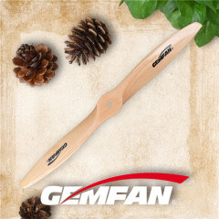 2012 gas motor wooden props with 2 blades for rc airplane