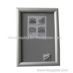 Cadre en aluminium anodisé en aluminium incurvé 20mm
