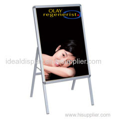 Poster stand for advertising
