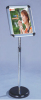 height adjustable snap info stand poster stand