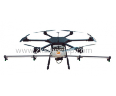 Pesticide Sprayer Drone for Agriculture Carbon Fiber 6 Rotors Loaded Pesticide GPS Mapping UAV Crop Spraying