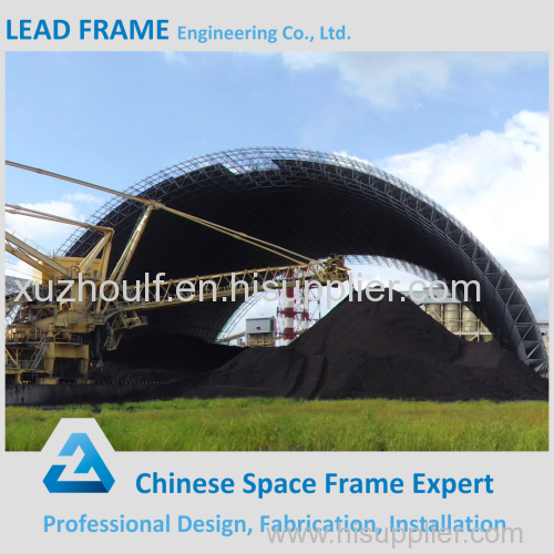Chinese new concrete grip and anchor head steel space frame