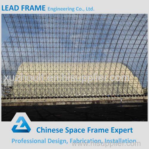 Large Span Steel Space Frame Sorage Of Coal